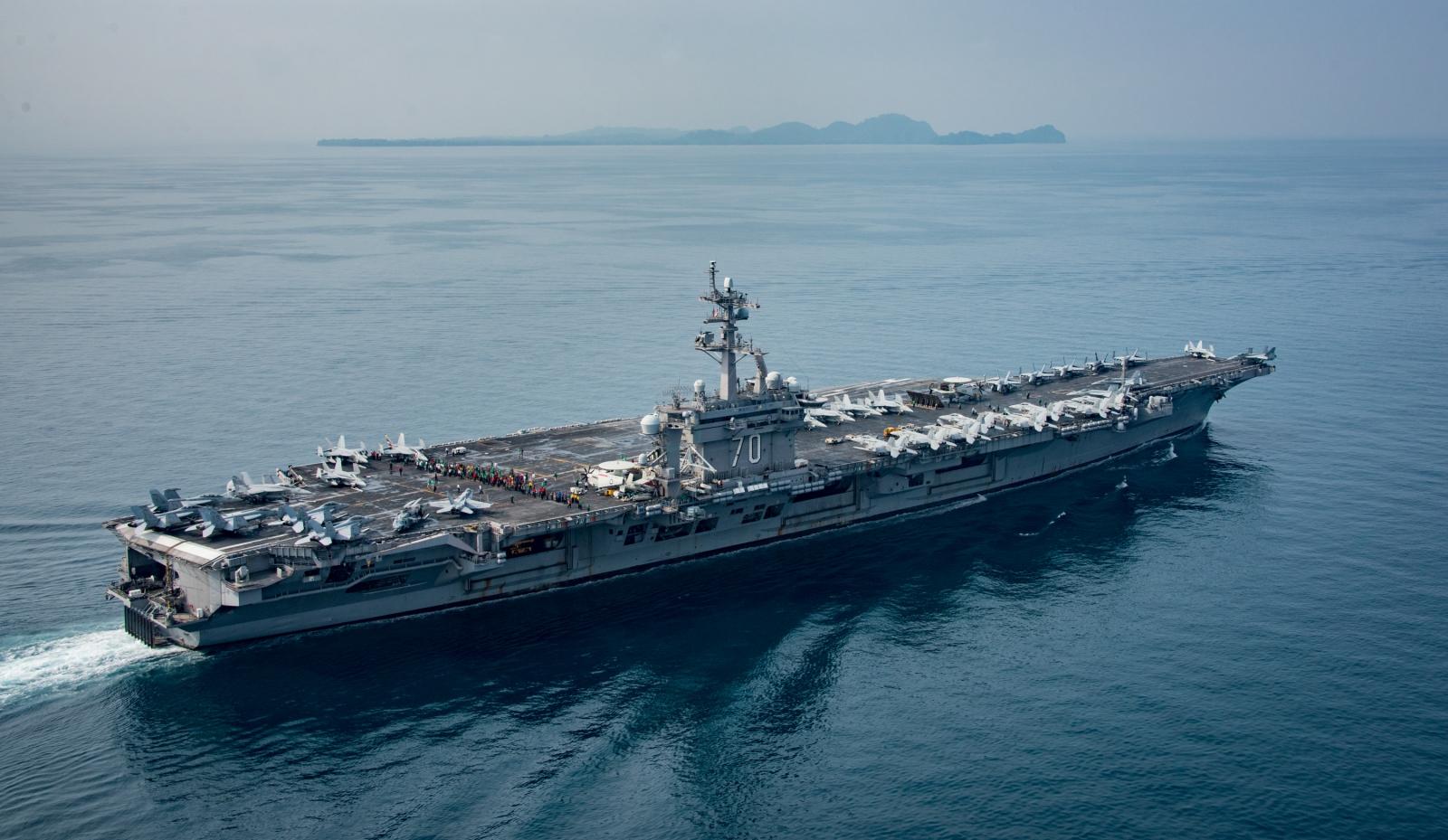 USS Carl Vinson Sunda Strait