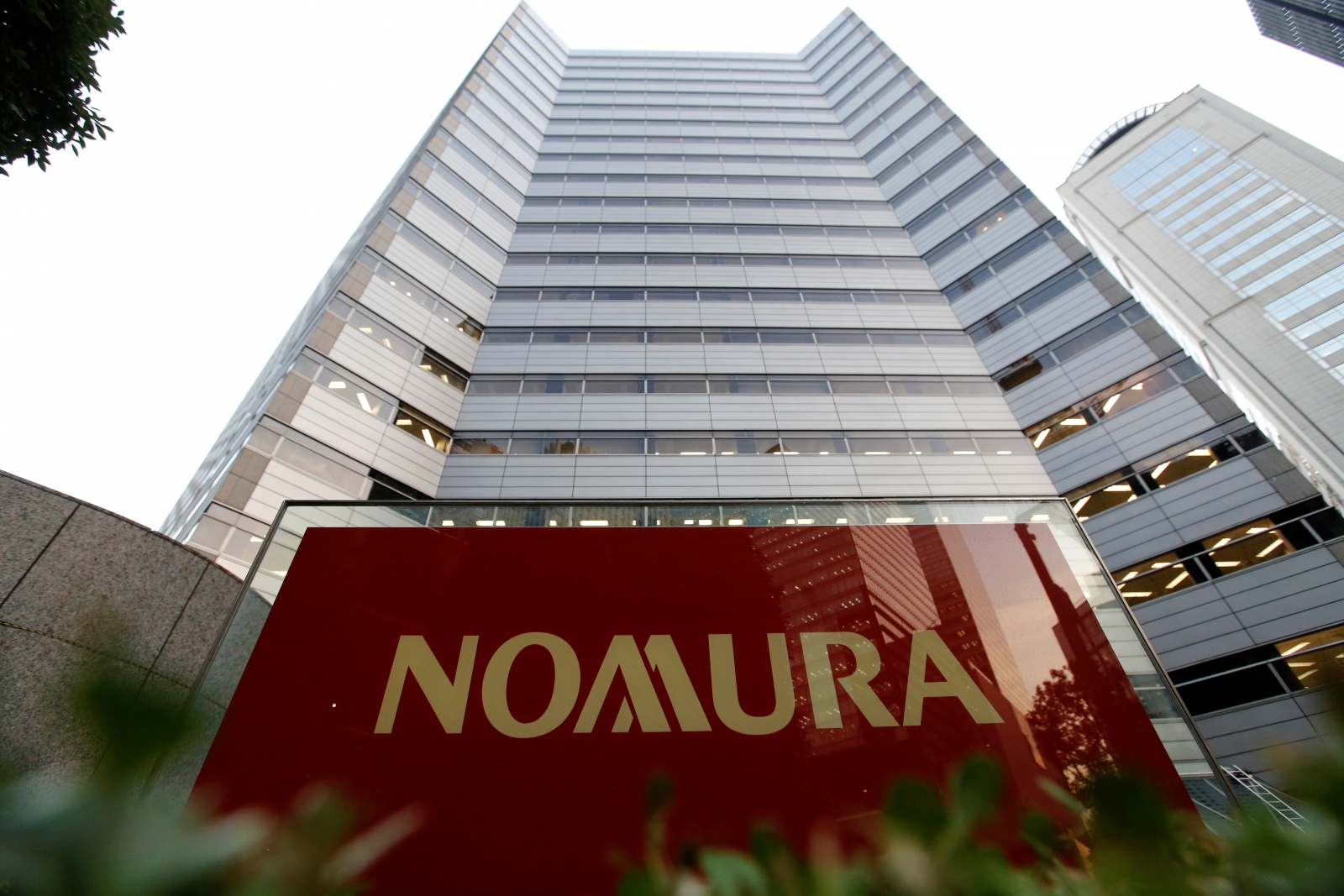 google japan office. The Logo Of Nomura Securities Is Pictured At Company\u0027s Otemachi Head Office In Tokyo, Japan Reuters Google
