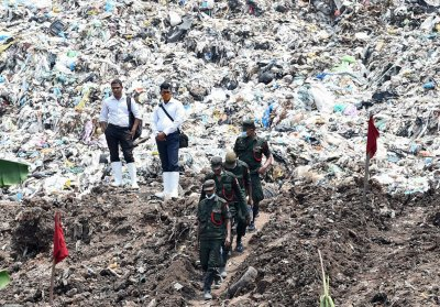 Colombo rubbish dump collapse