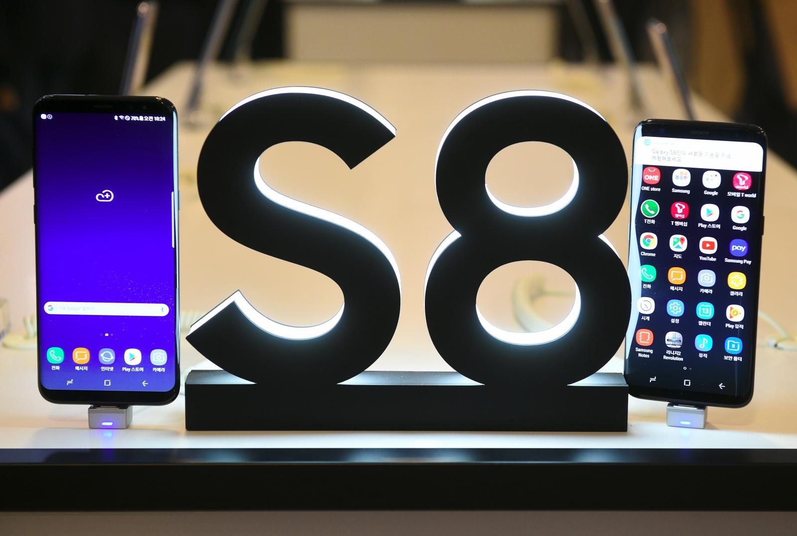 Galaxy S8 and S8+ teardown