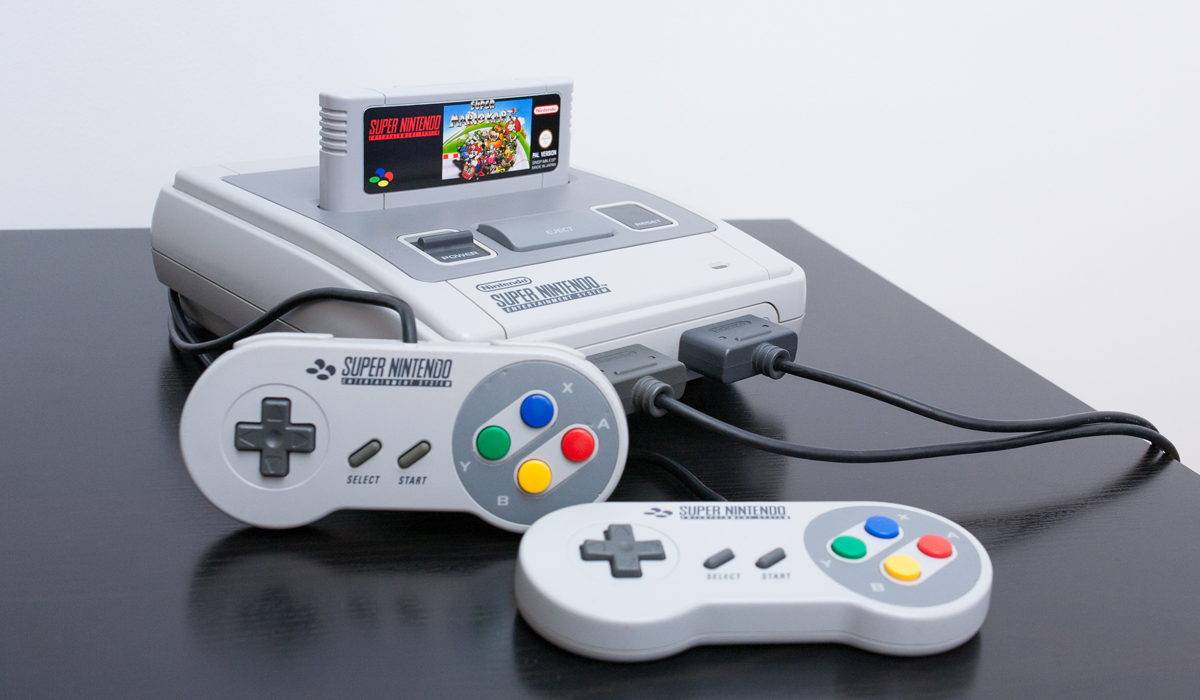 Nintendo snes classic reportedly in production for christmas 2017 release - Super nintendo classic game console ...