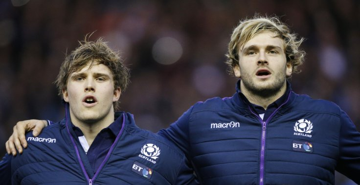 Jonny and Richie Gray