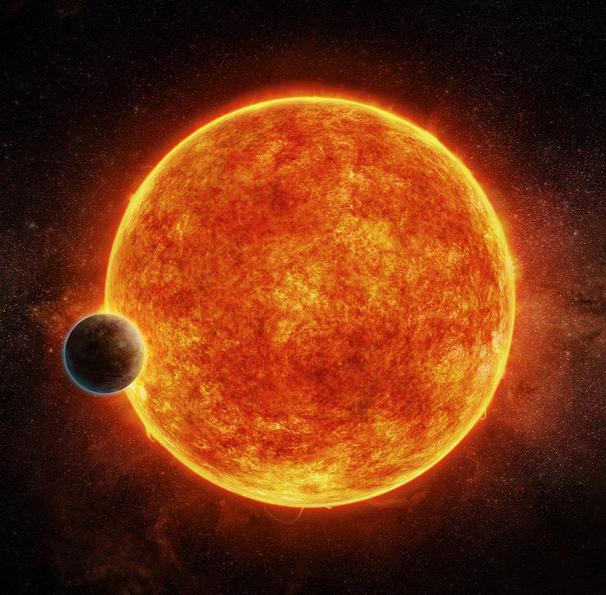 Nearby earth-like planet may be just right for life