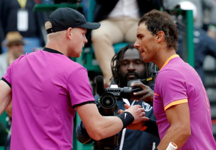 Kyle Edmund and Rafael Nadal