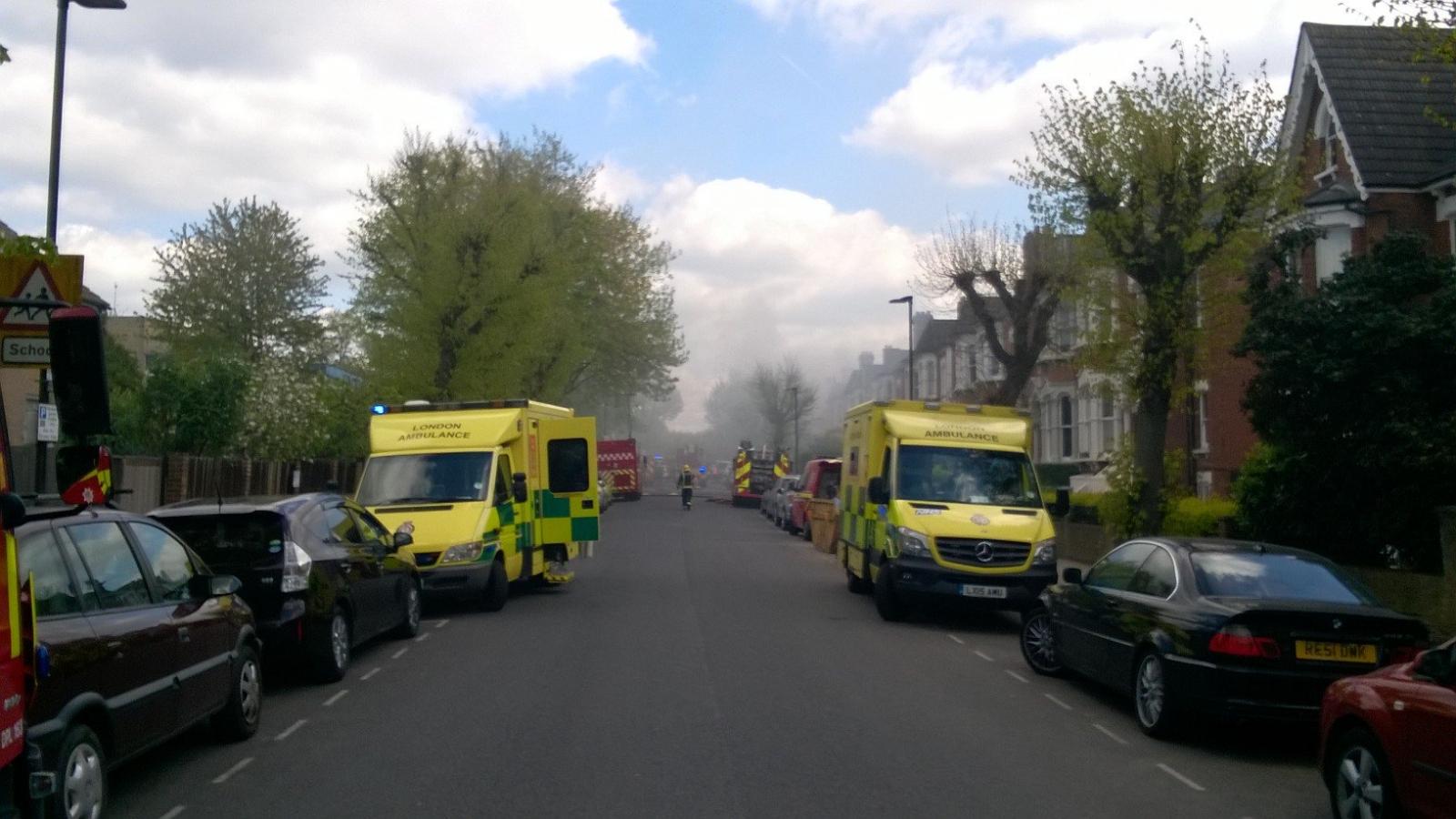 london explosion april 2017