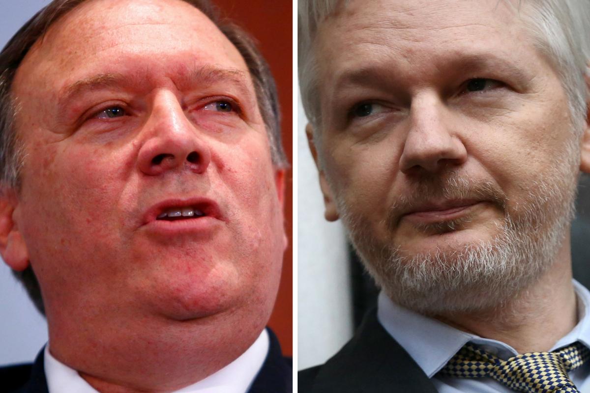 Pompeo-Assange