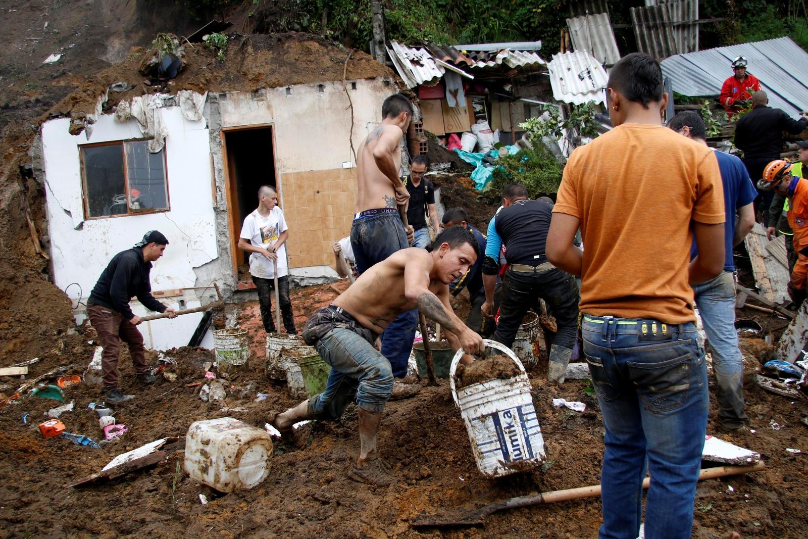 Colombia landslide