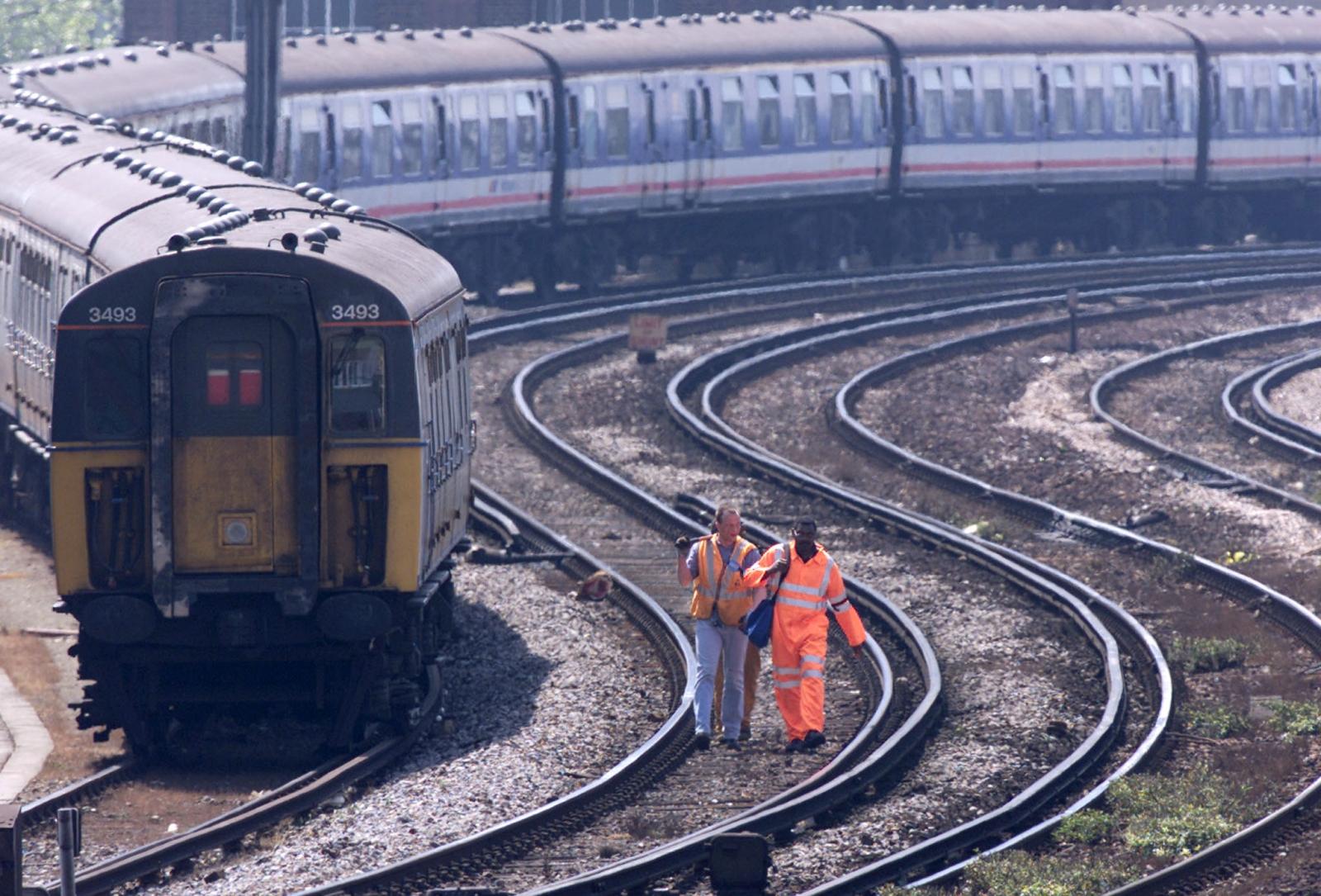UK railway infrastructure