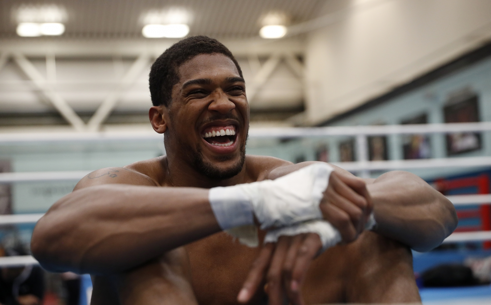 Joshua ready to face former sparring partner, Klitschko