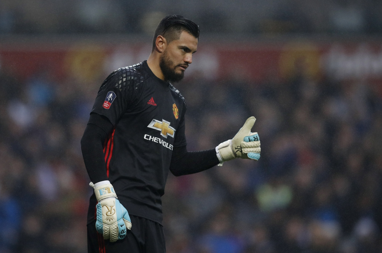 replacing Sergio David as de  targets Manchester Gea Romero