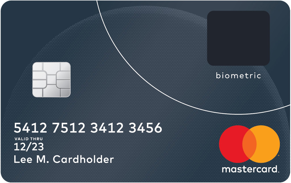 Mastercard Biometric Fingerprint card