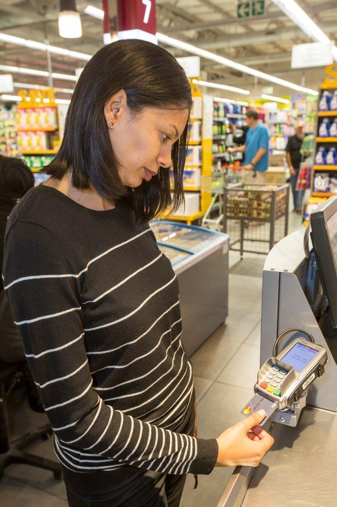 Mastercard Biometric Fingerprint card