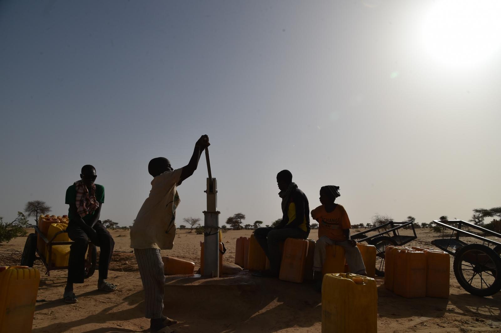 Nigerian refugees