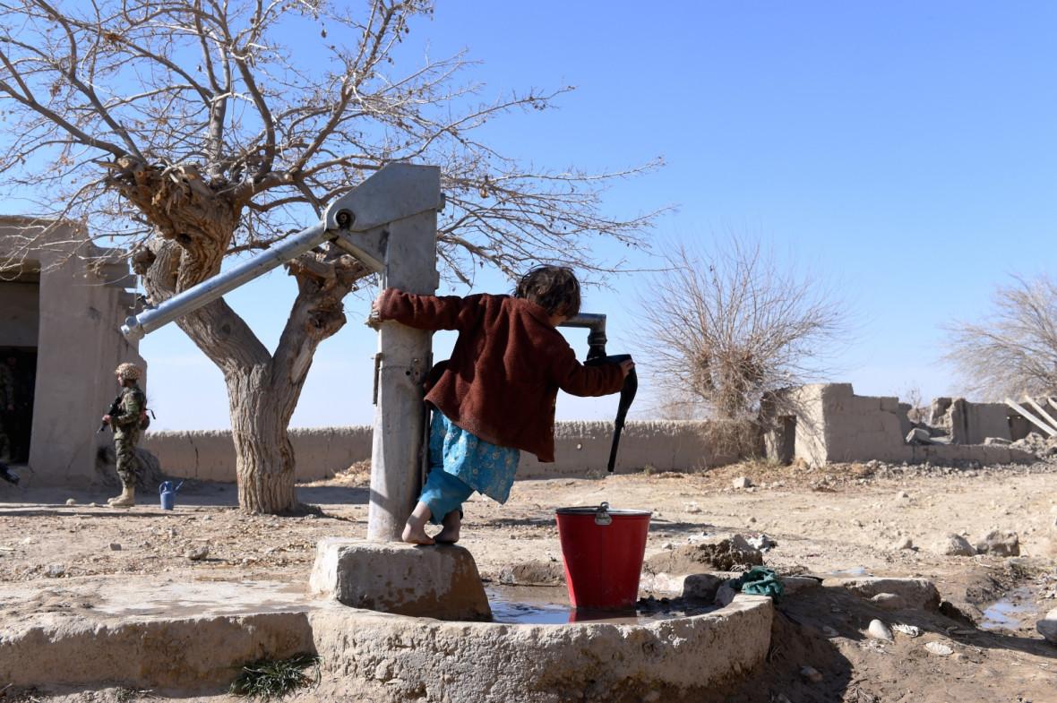 Afghanistan water pump