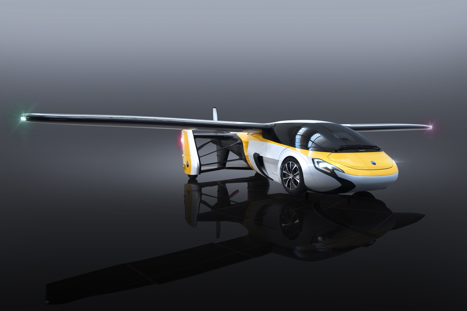The Future Is Now: AeroMobil Debuts Million Dollar Flying Car
