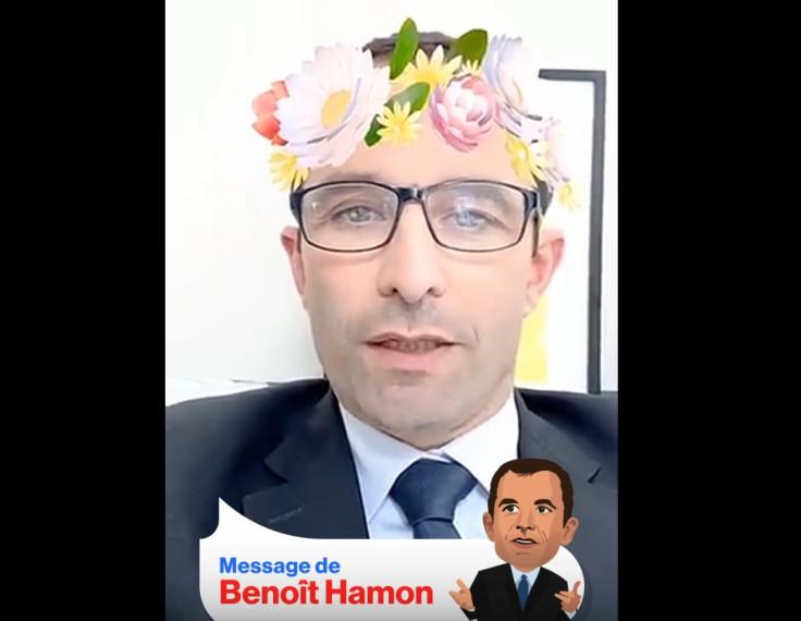 Benoit Hamon Snapchat