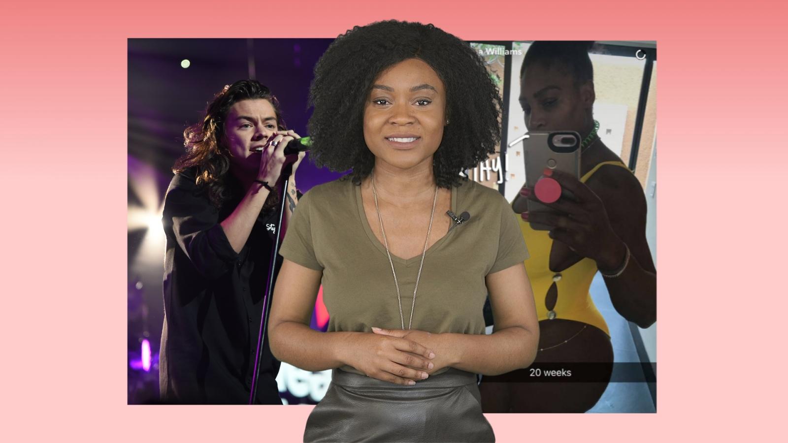 A-list Insider: Serena Williams pregnant, Nicki Minaj keeps Westminster Bridge footage, Harry Styles backlash