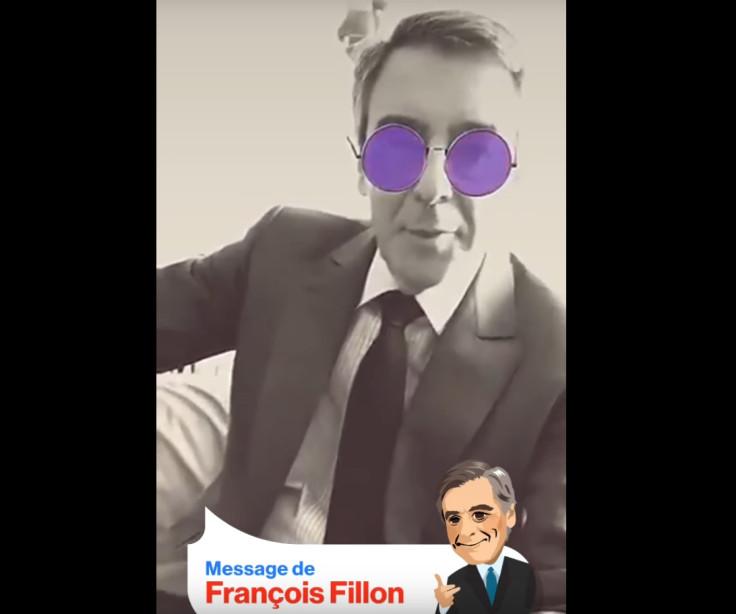 Francois Fillon Snapchat