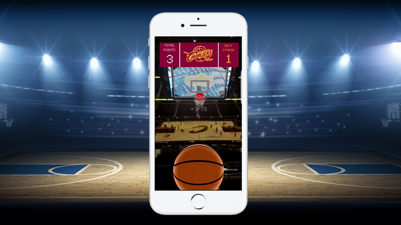 Cleveland Cavaliers' Deep in the Q app