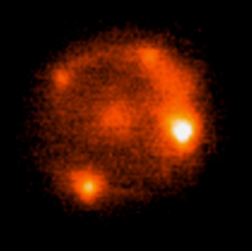 Astronomers discover four images of same supernova split by cosmic lens