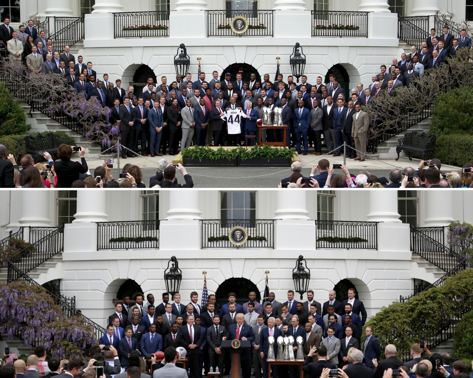 Patriots White House