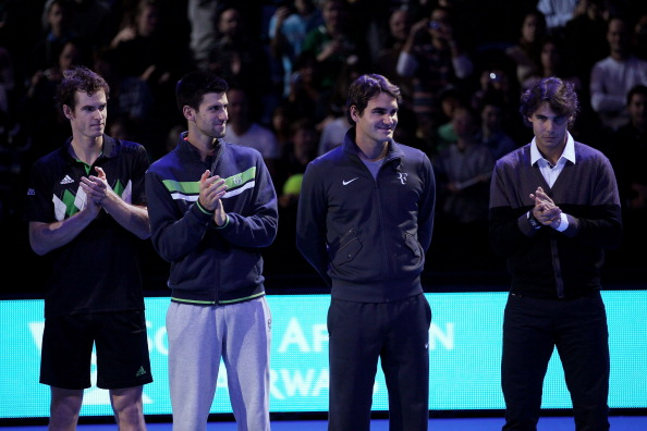 The big four of tennis