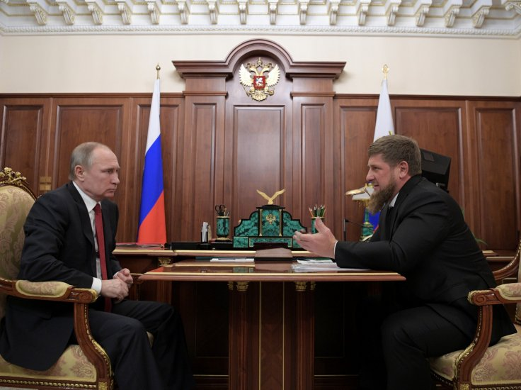 Putin and Kadyrov