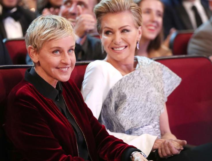 Portia De Rossi Wedding Kiss.Ellen Degeneres And Portia De Rossi Split Rumours Resurface