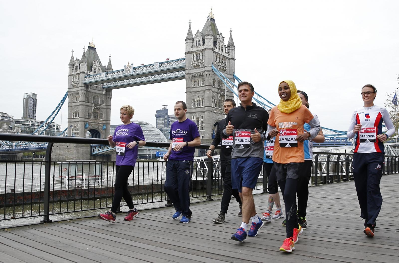 Emmanuel de Merode London Marathon