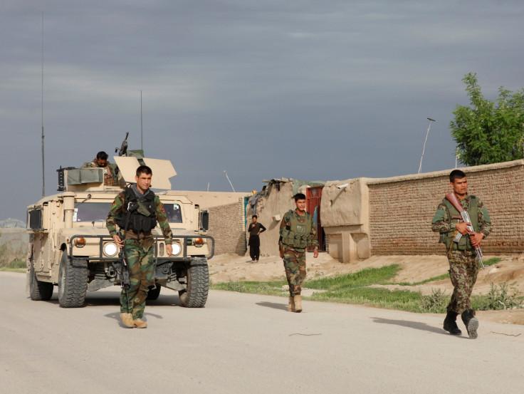 Afghan military base
