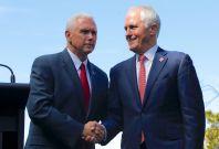 Mike Pence Australia visit