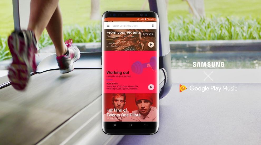 Google Play Music for new Samsung phones,tablets