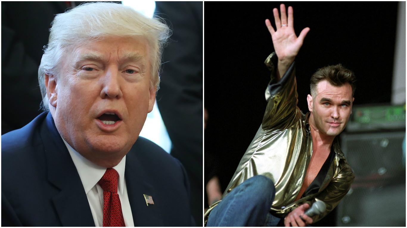 Morrissey, Trump