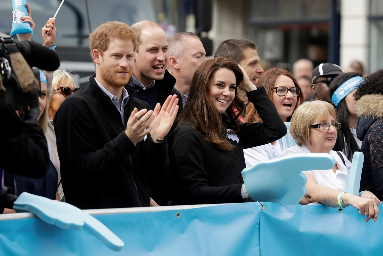 London Marathon 2017 royals
