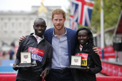 London Marathon 2017 royals