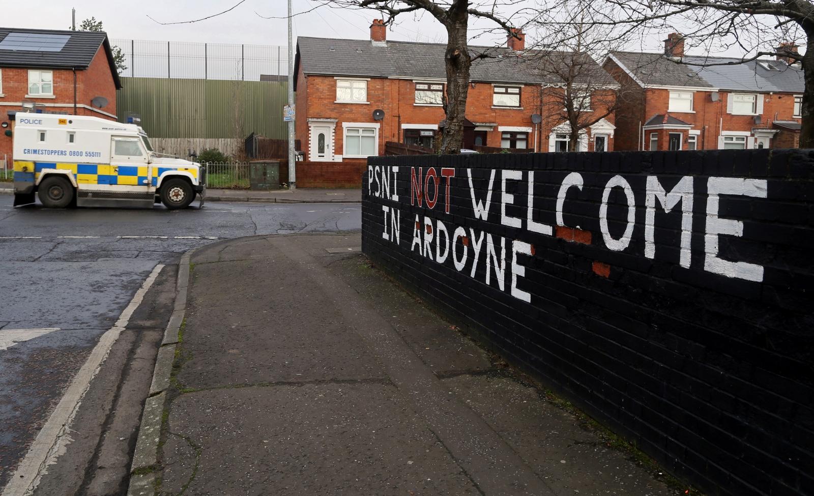 Ardoyne Belfast PSNI