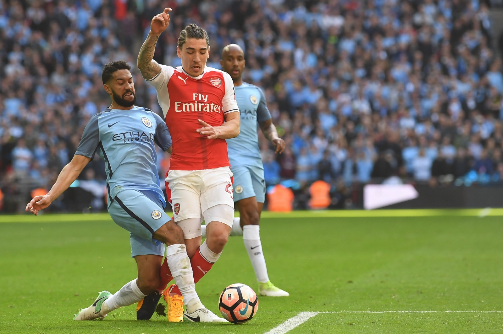 Man City make history in FA Cup semi-final against Arsenal