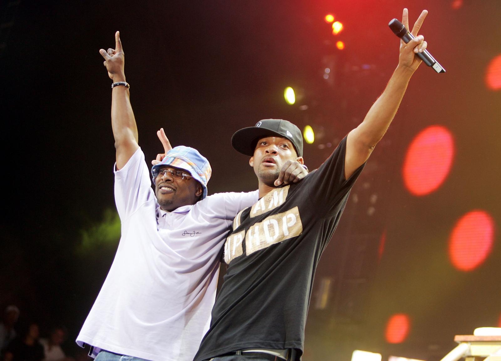 DJ Jazzy Jeff and Will Smith