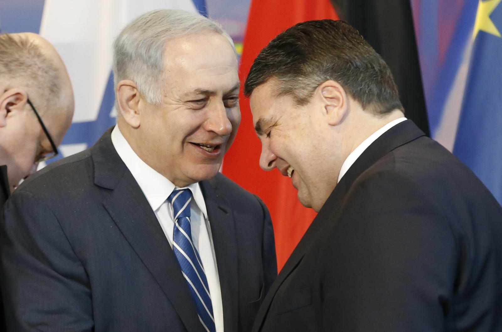 Netanyahu Gabriel