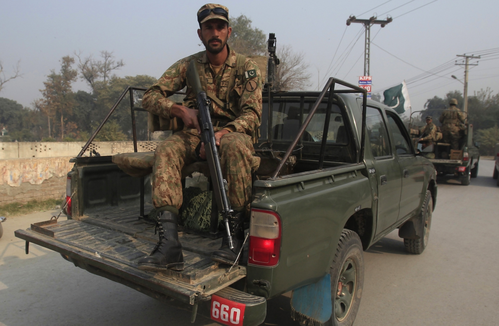 Pakistan Karachi shootout