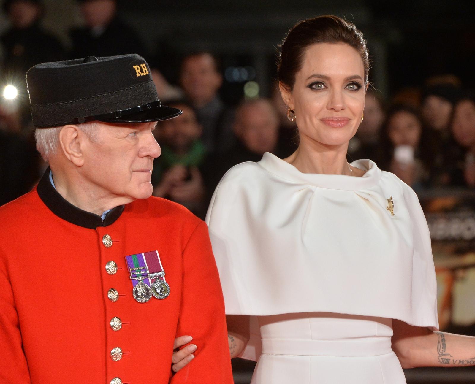 Angelina Jolie in London