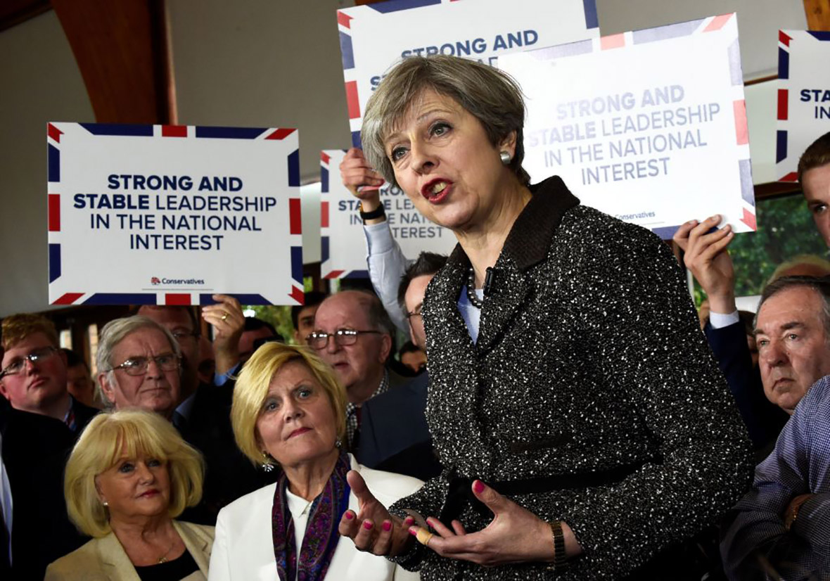 Theresa May: 'We must not be complacent'