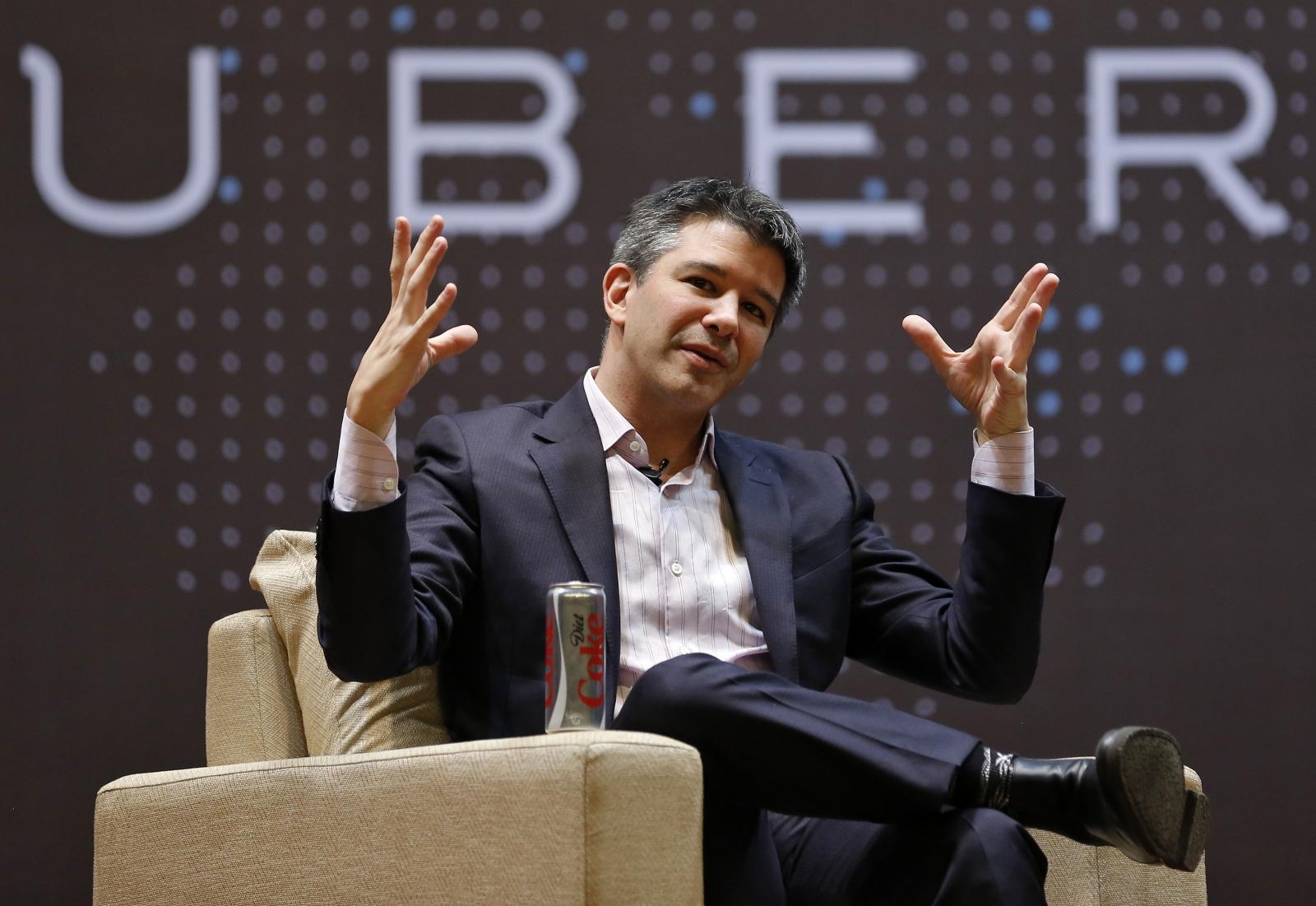 Uber CEO Travis Kalanick