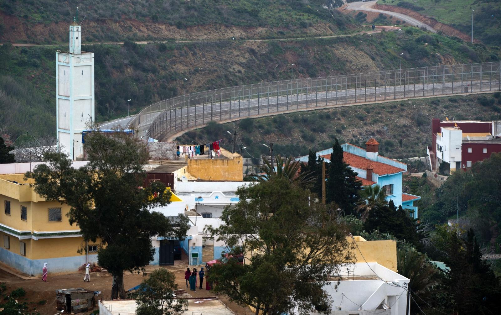 Ceuta-Morocco border