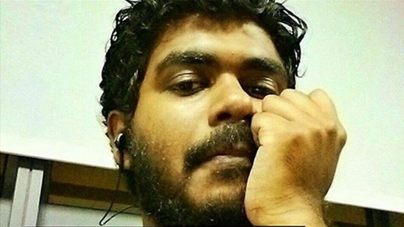 Yameen Rasheed blogger Maldives