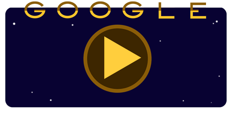 Cassini spacecraft google doodle