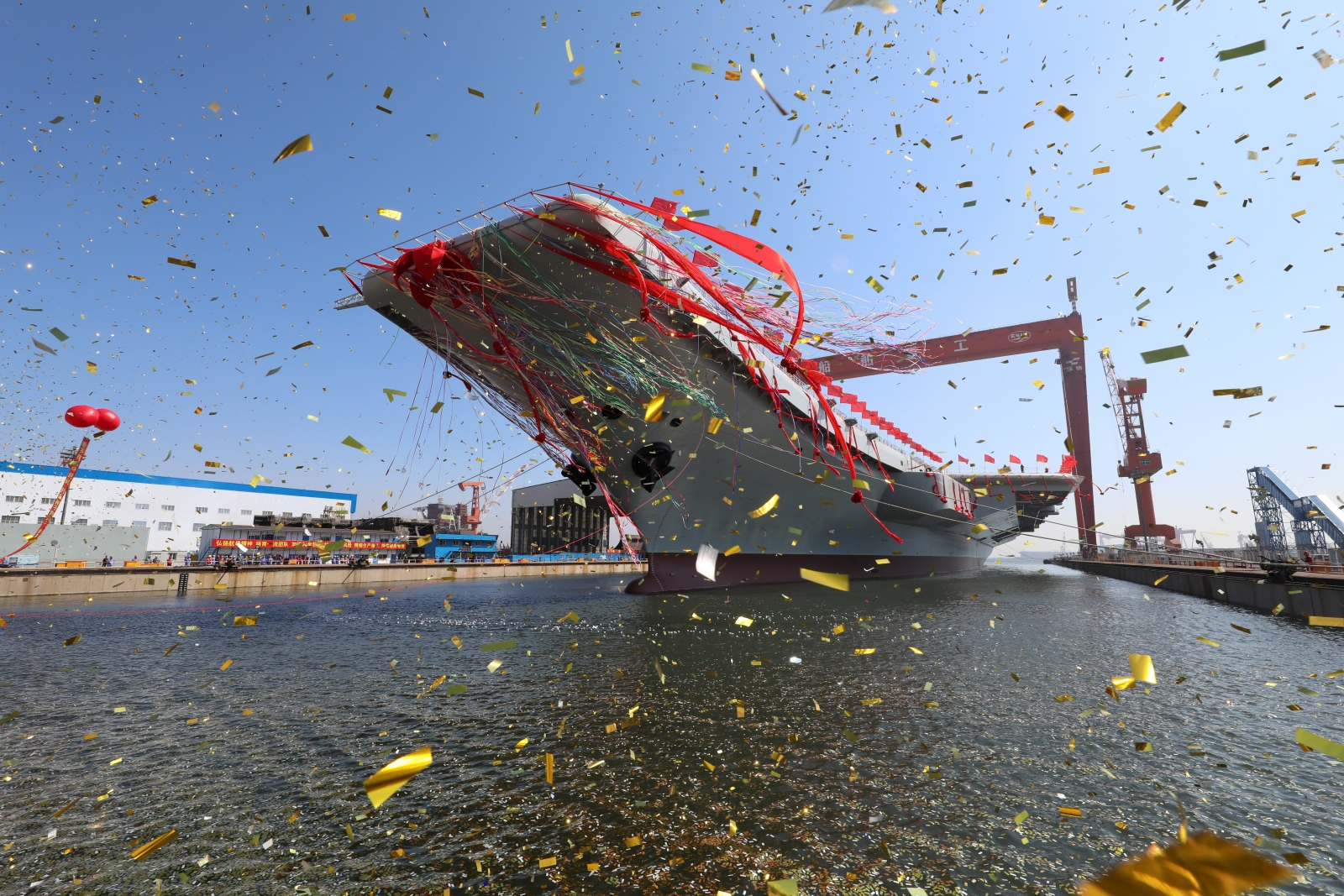 China's second aircraft carrier