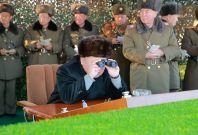 North Korea live-fire drill and Kim Jong-un