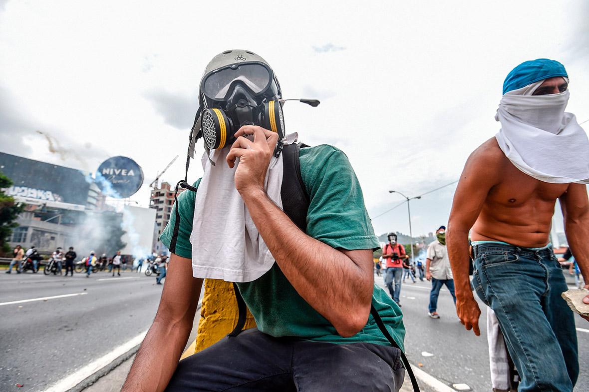 Venezuela protest masks