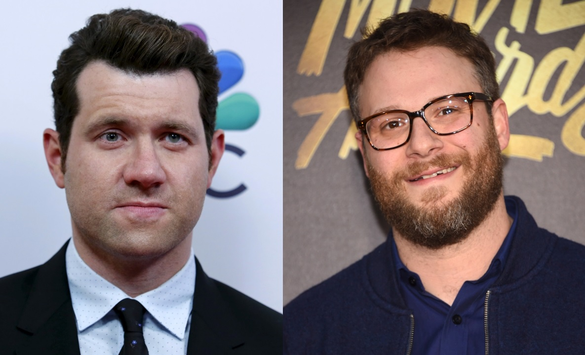 Billy Eichner and Seth Rogen